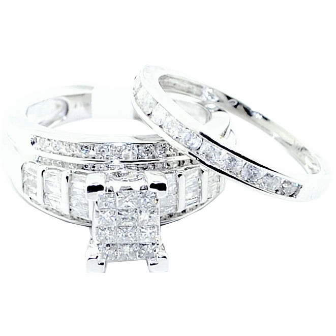 marriage proposal wedding band sets