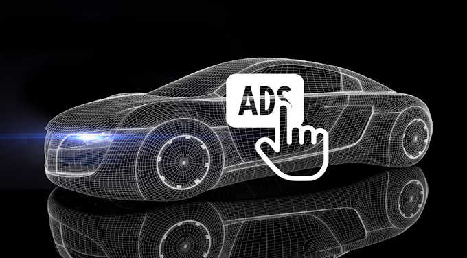 Ford patents technology to show ads in cars