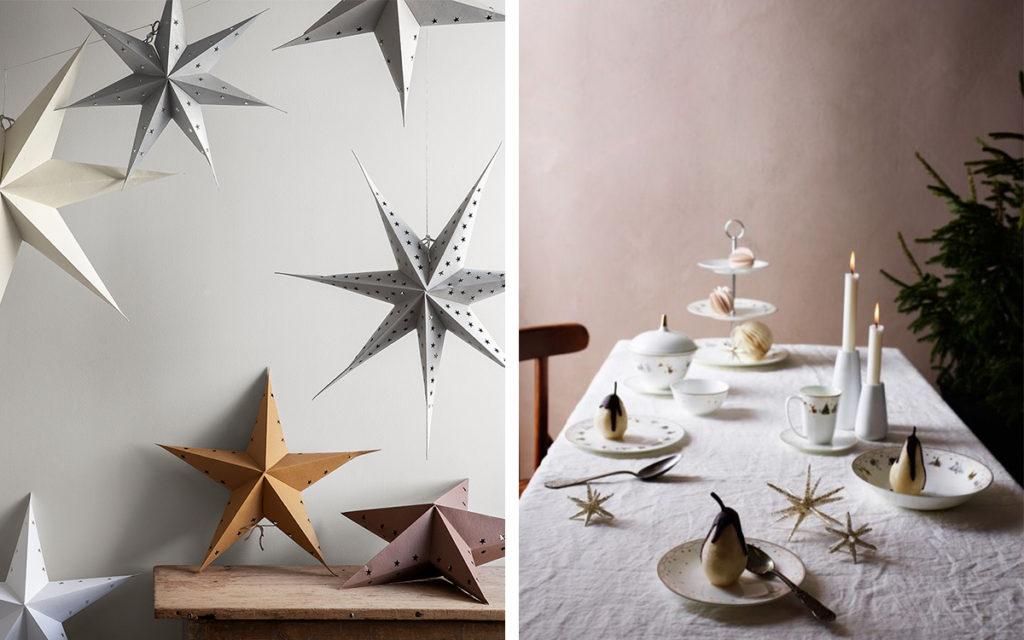 Karácsonyi színek, karácsonyfa díszítés trend 2020-2021 - Fehér, bézs és szürke karácsonyi díszek
