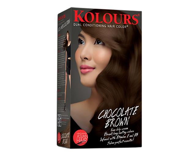 Thuốc nhuộm Kolours màu nâu chocolate