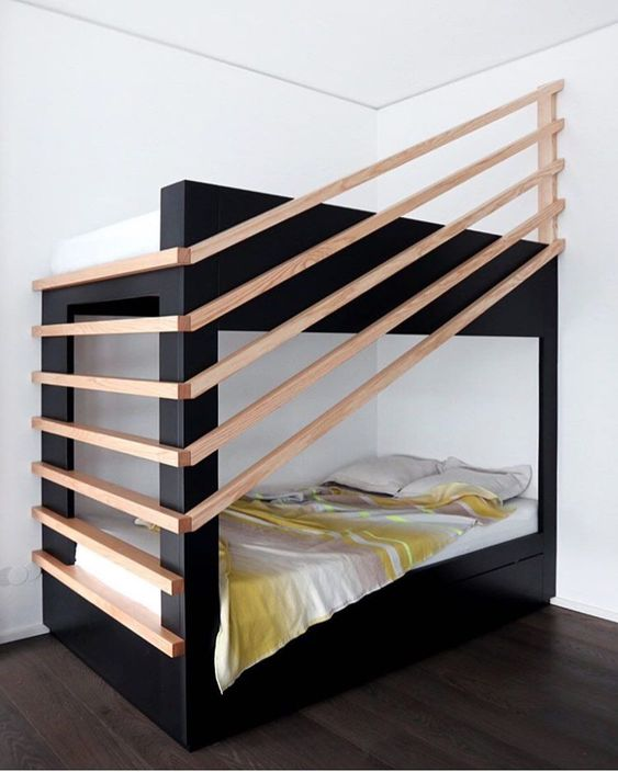Cool Bunk Bed Ladder Ideas