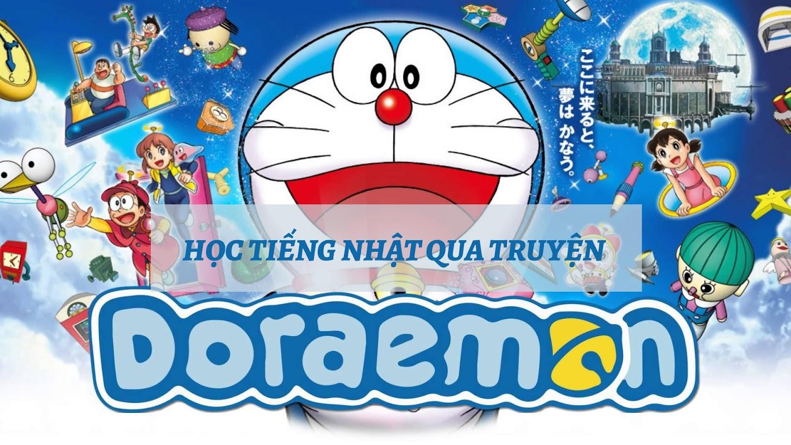 Học tiếng Nhật qua truyện Doraemon