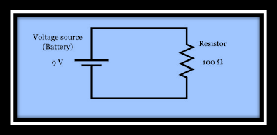 Power dissipation resistor circuit