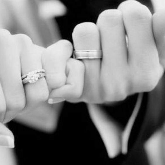 promise wedding bands