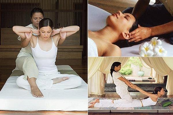 Процедура тайского массажа