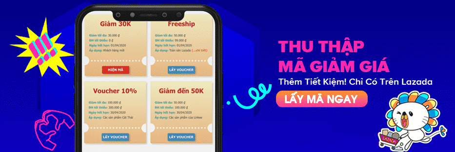 Săn voucher qua app ứng dụng điện thoại