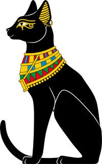 Click to find out some surprising facts that you may not know about your  kitty. | Egyptian cats, Egyptian cat tattoos, Egypt cat