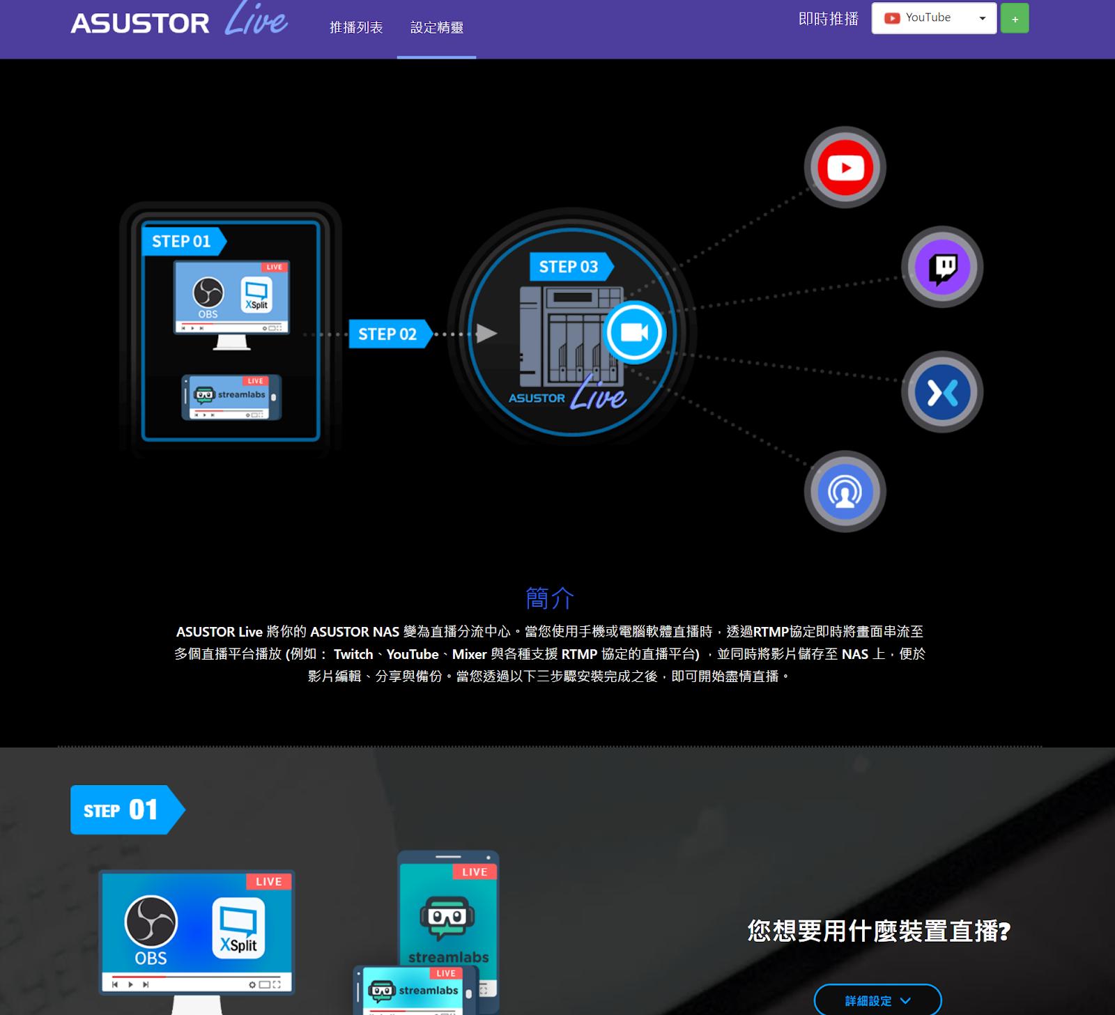華碩子公司 華芸 ASUSTOR 出的電競 Nas AS5304T 4Bay - 25