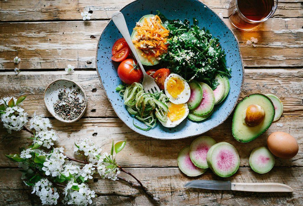 Khẩu phần ăn chay để chữa đau lưng