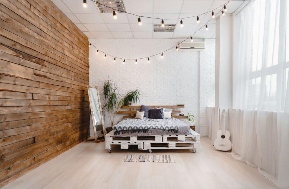 Кровать из паллет