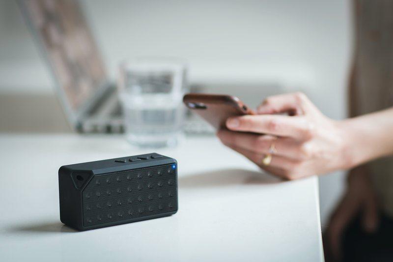 Bluetooth Speaker on Table