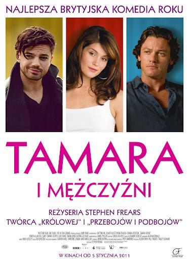 Polski plakat filmu 'Tamara i Mężczyźni'