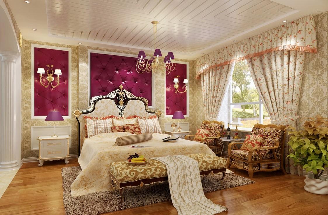 Thiết kế phòng ngủ dành cho vợ chồng đẹp hút hồn.