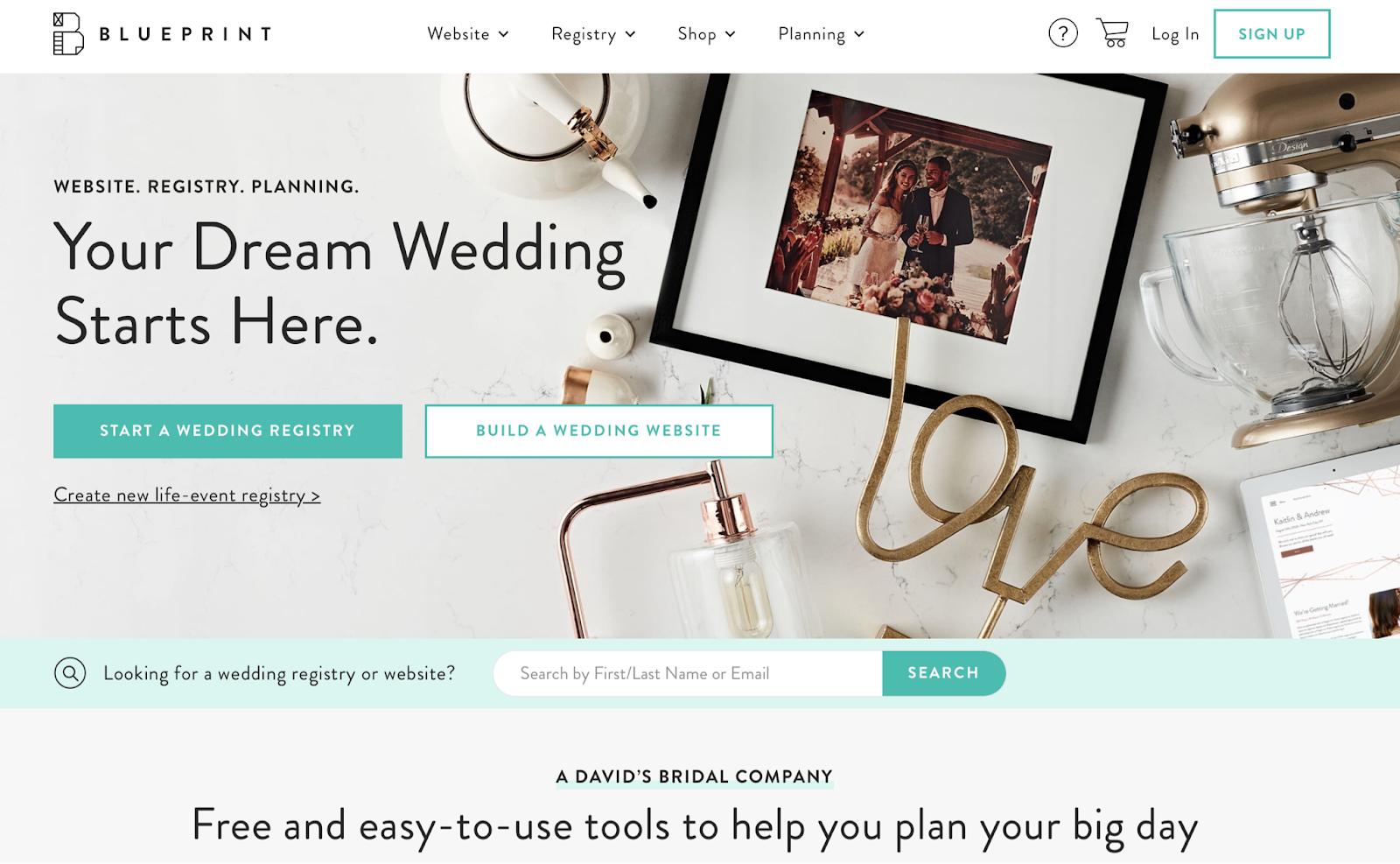 blueprint honeymoon registry