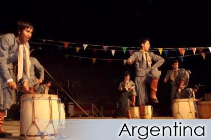 """ARGENTINA - Grupo de Danças Nativas e Formação Artística Cultural """"Huayra Muyoj"""""""