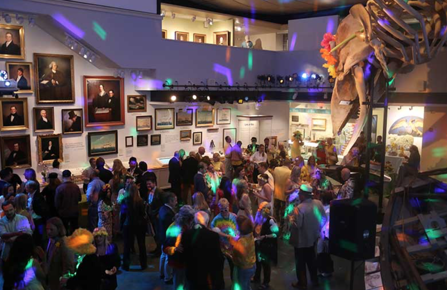 New York Social Diary, Night at the Museum, Nantucket,  Article by Hilary Dick and Karen Klopp.