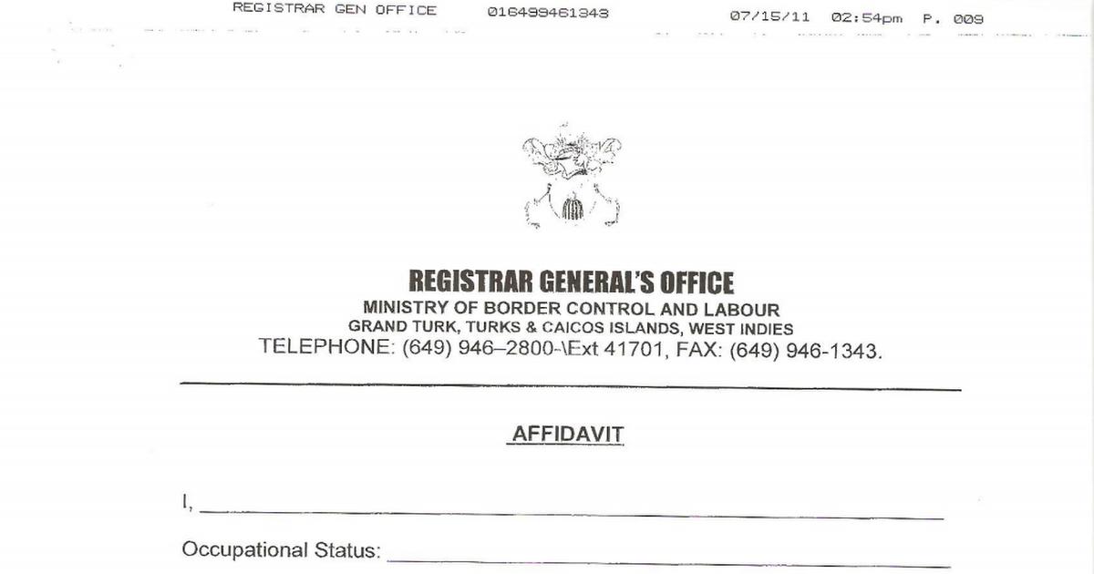 Affidavit of Single Status pdf - Google Drive