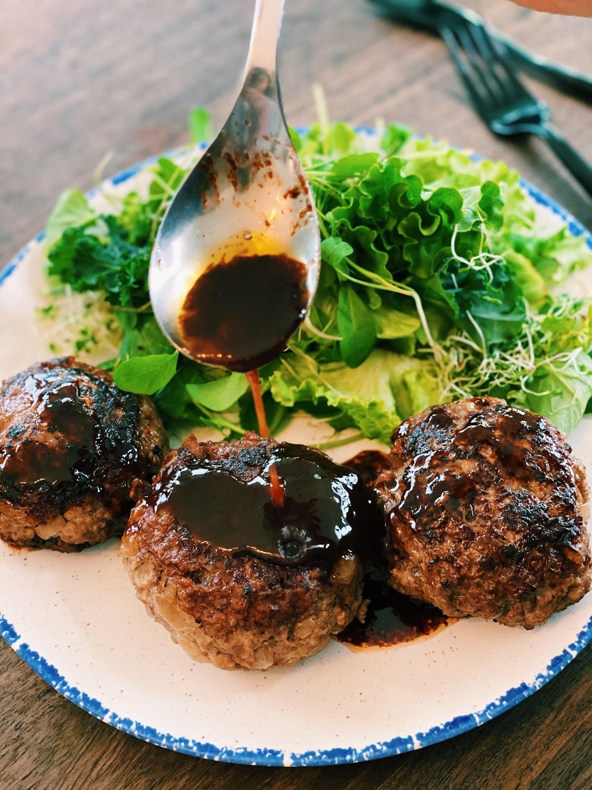 Japanese Hamburger Steak (JUICY)