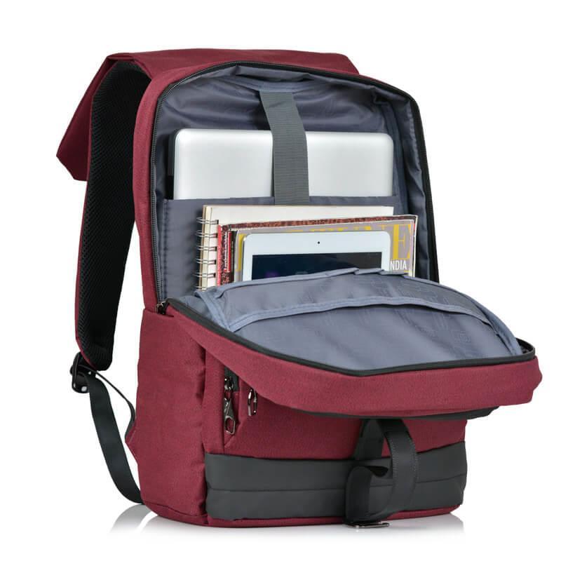 Balo laptop với nhiều ngăn tiện ích đa năng