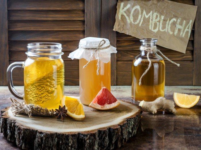 Kombucha brewing