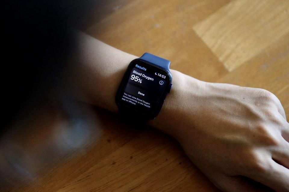 Đo nồng độ trong máu SpO2 với đồng hồ Apple Watch Series 6 GPS 40mm