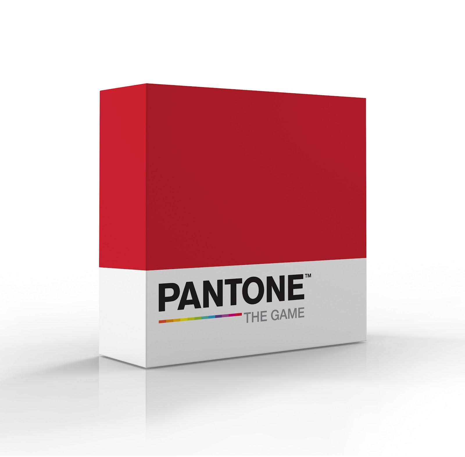 Pantone: The Game box