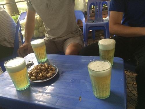 Hình ảnh bia hơi hà nội đẹp