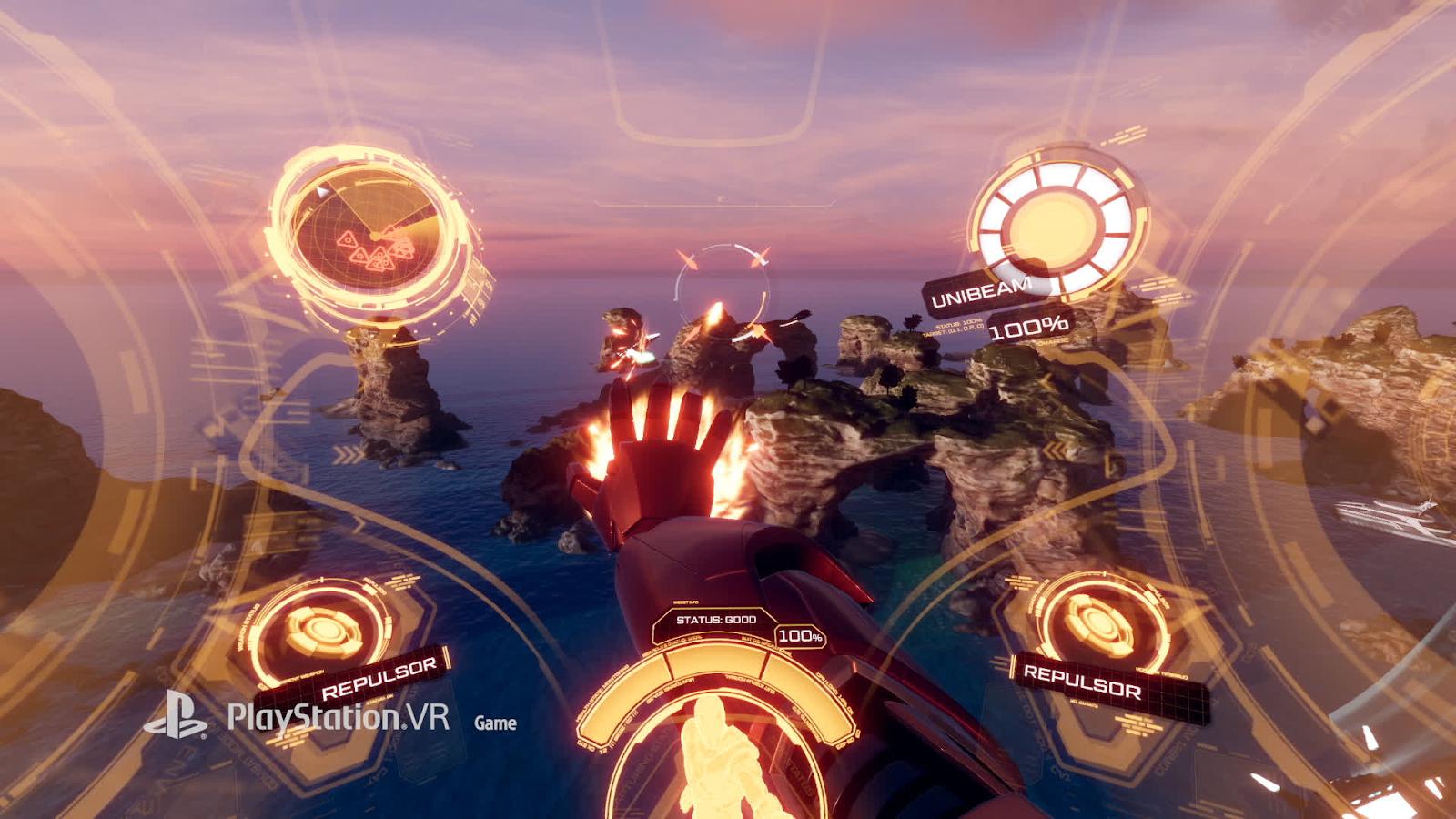 Iron Man VR - VR game.
