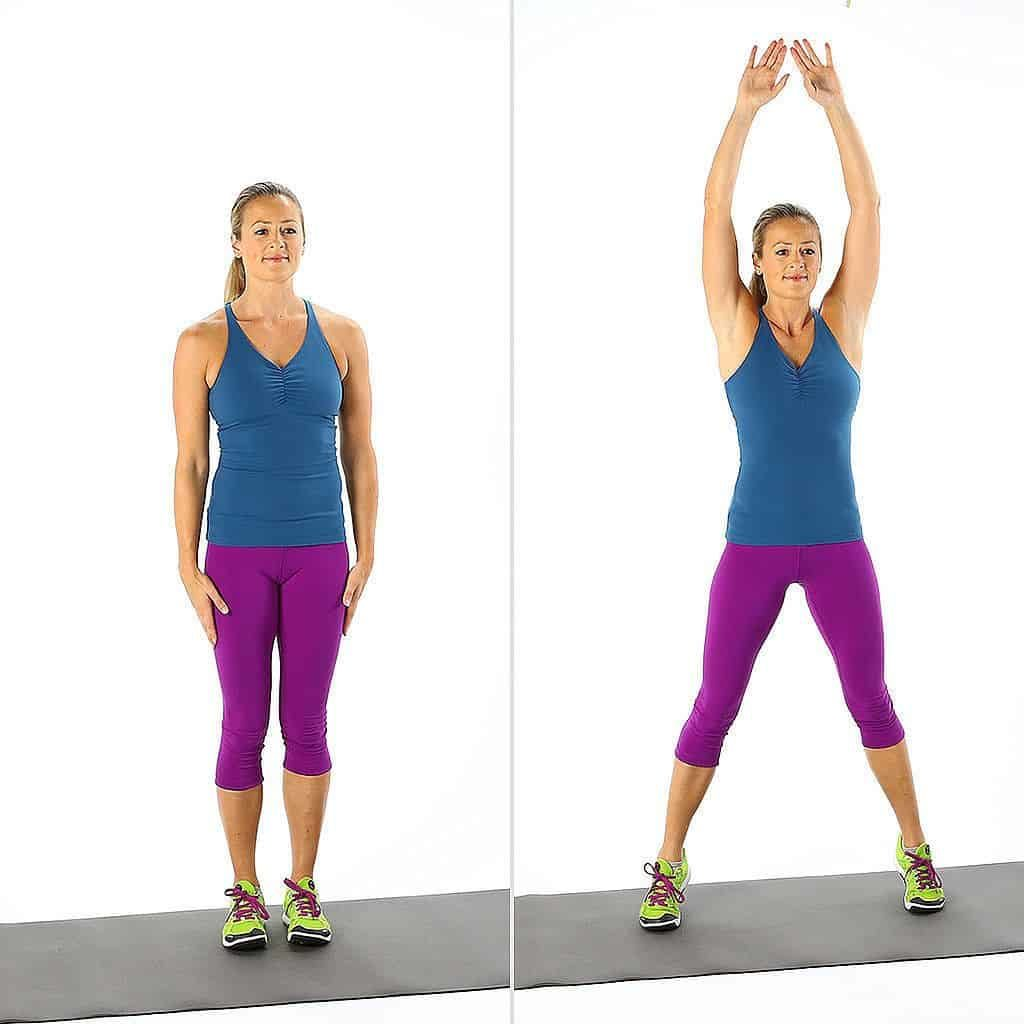 Jumping Jacks Are Good For AllOver Weight Loss
