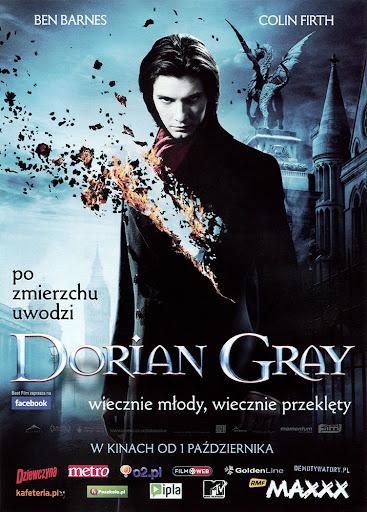 Przód ulotki filmu 'Dorian Gray'