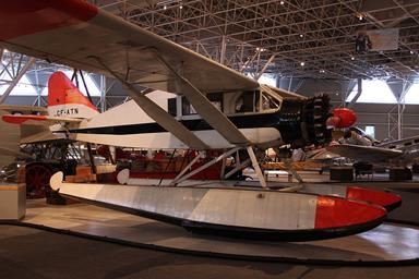 Bellanca CH-300 Pacemaker Seaplane at Rockcliffe Canada Aviation Museum