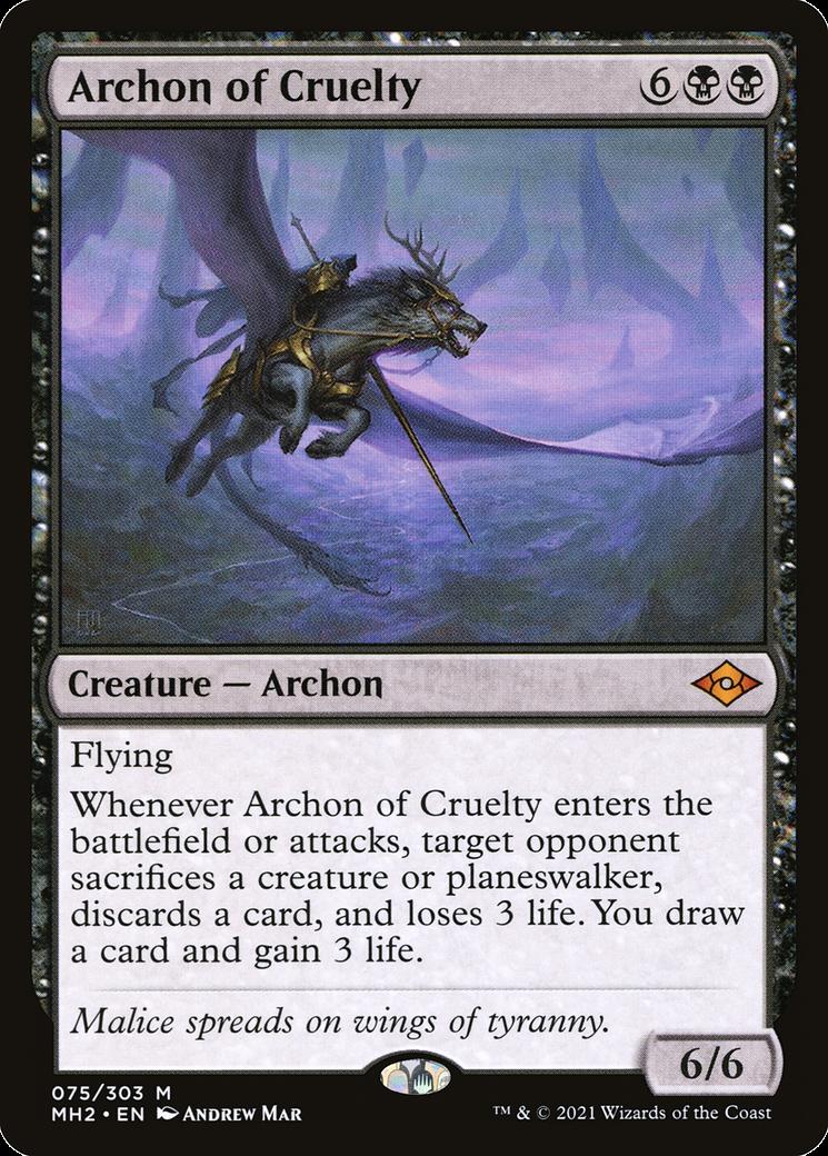 Archon of Cruelty MTG Card