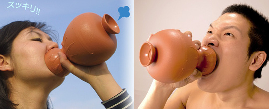 A vase you can scream all your frustration into. Talk about discreet.