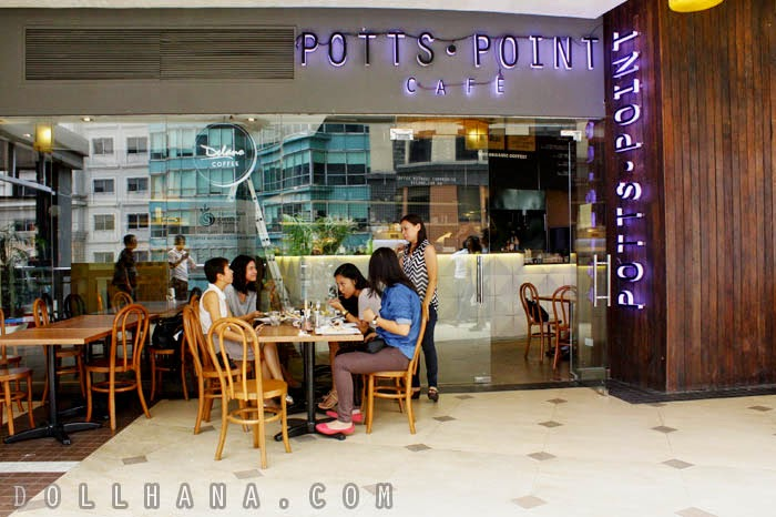 New Restaurant Alert: Choosing Healthy at Potts Point Cafe (Eastwood Mall, Quezon City)