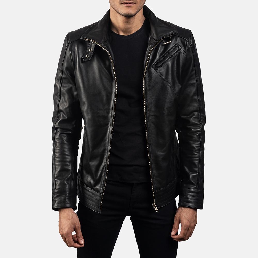 Legacy Black Leather Jacket