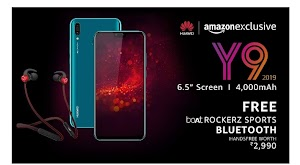 Huawei Y9 2019 price in India | Huawei Y9 specs and comparison with Honor 10 lite|Top 5 features