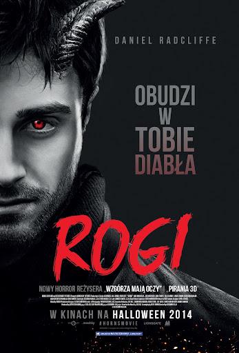 Polski plakat filmu 'Rogi'