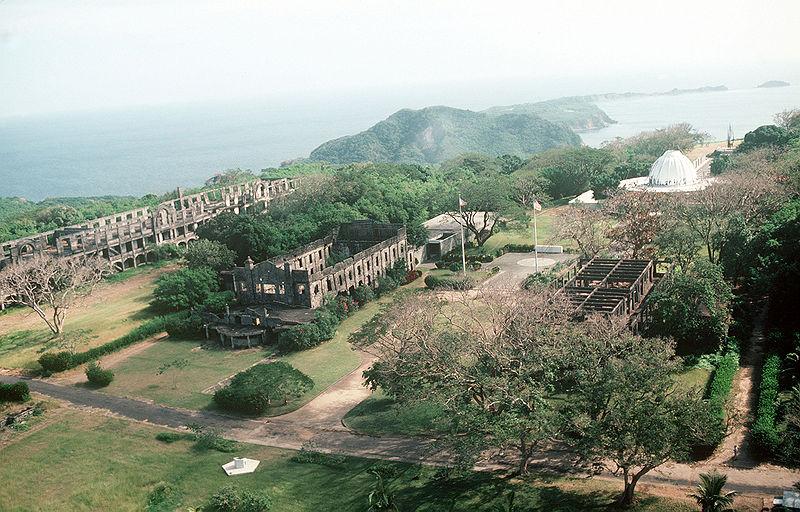 Corregidor Island in Cavite Philippines