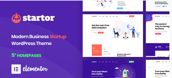 startot business theme