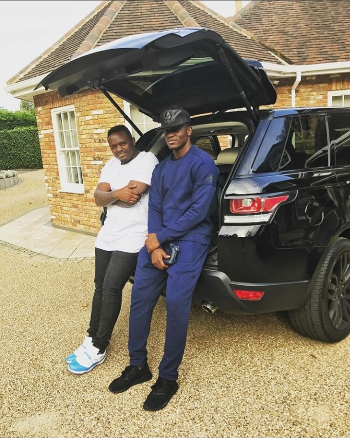 Victor Wanyama And Hos Car