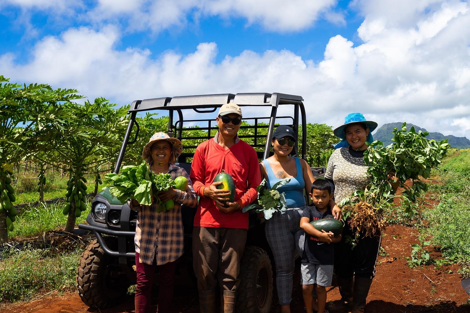 Dang Fresh Farm, a Kauai farm