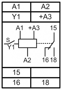 Схема подключения РВЦ-1М
