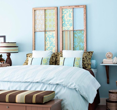 source: ://repcolitepaints.blogspot.com/2010/06/old-window-headboard .html & 25 Things to do with Old Windows   Mountainland Exteriors Blog Pezcame.Com