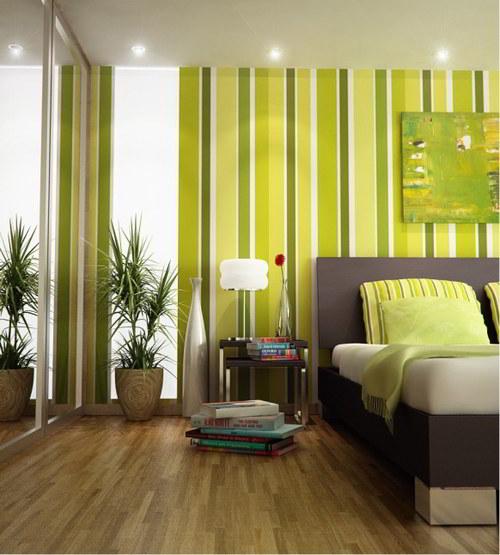 decorar dormitorio color verde significado