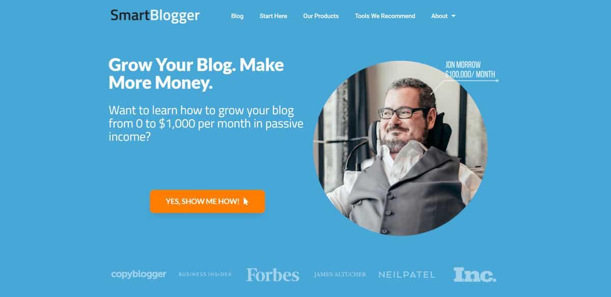 site com área de membros em como ganhar dinheiro com blog