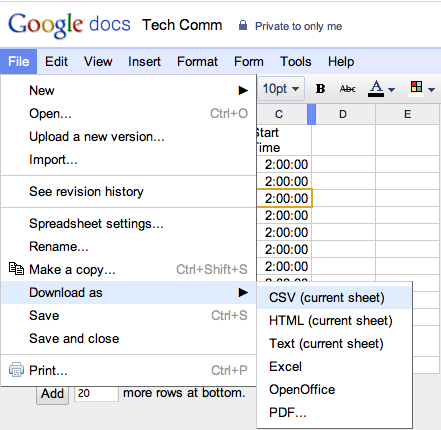 Google Student Blog Student Tip Use Google Docs And Calendar To