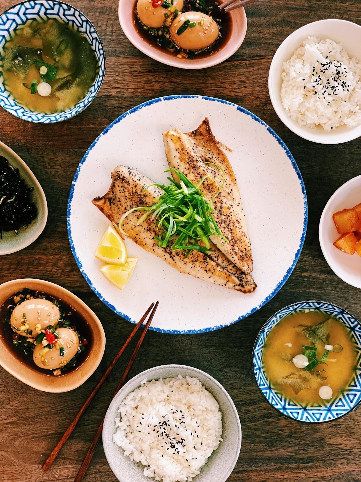 Healthy Asian Brunch