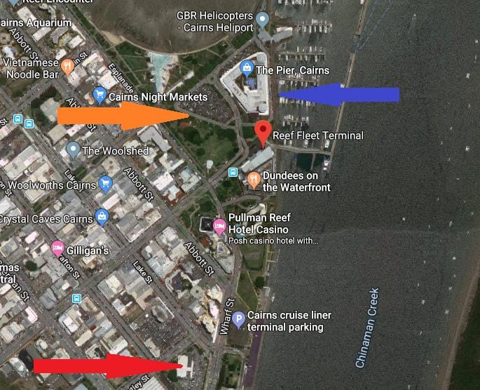 reef fleet terminal parking