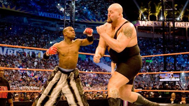 Mayweather vs Big Show WM24 (WWE).jpg