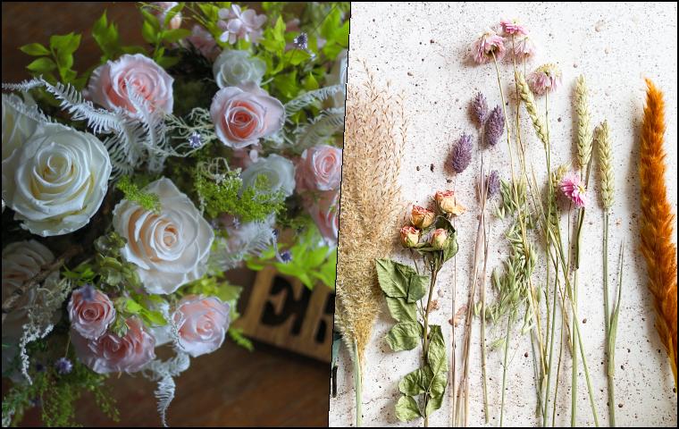 不凋花和乾燥花有什麼不同
